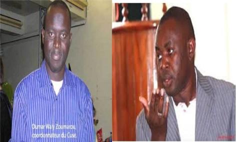 Grand cadre des syndicats d'enseignants : Mamadou Lamine Dianté et Zoumarou virés
