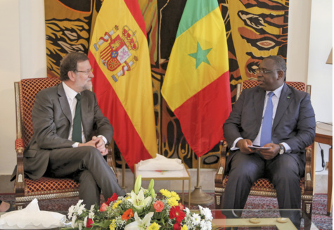 Reçu par le Président Macky Sall, le Premier ministre espagnol magnifie les bonnes relations entre Dakar et Madrid