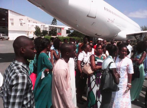 Pour réclamer leurs salaires, les travailleurs de Sénégal Airlines organisent un concert de casseroles