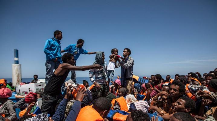 Encore une quarantaine de migrants morts durant une traversée vers l'Europe
