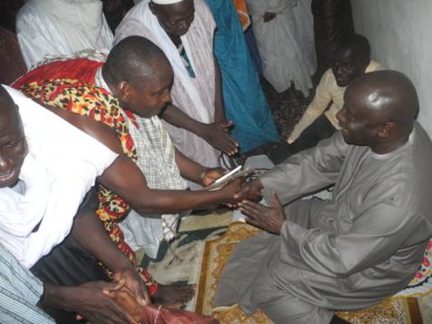 Quelques images de la tournée de proximité de Idrissa Seck à Ranérou