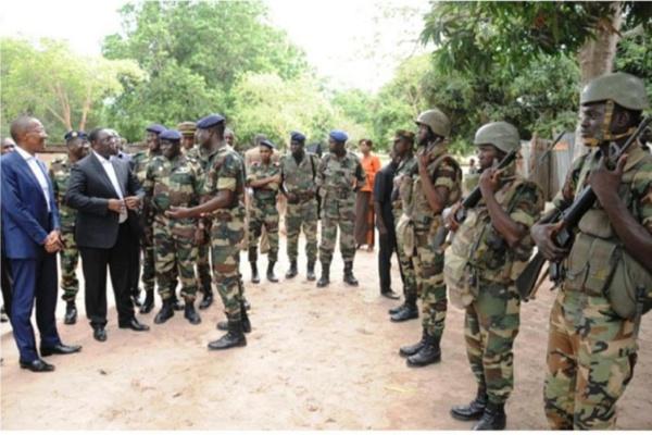 2100 soldats suffisent pour éradiquer la rébellion en Casamance (Par Tah)