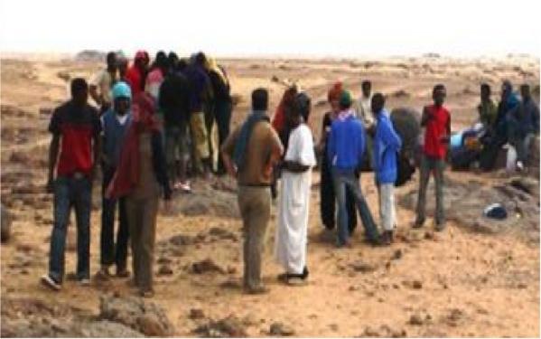 """L'horrible témoignage d'un migrant sénégalais coincé en Lybie: """"Avant-hier, un compatriote a été égorgé par les Jihadistes parce qu'il...."""" (Audio)"""