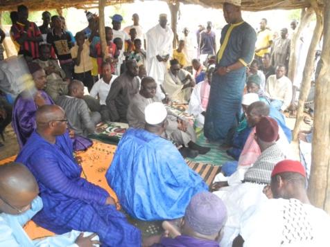 Photos - Tournée de Idrissa Seck: Les étapes de Kanel et Bakel