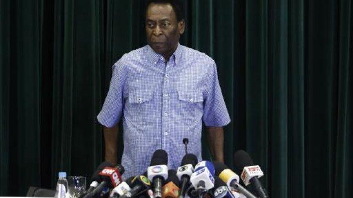 Brésil : La légende du football, Pelé, de nouveau hospitalisé