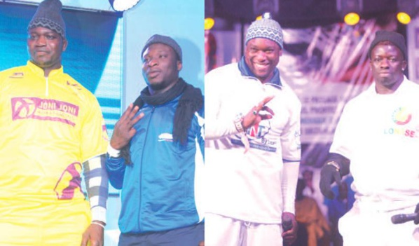 Tapha Tine / Ama Baldé et Zoss / Gouye-gui: Tout peut changer ce dimanche