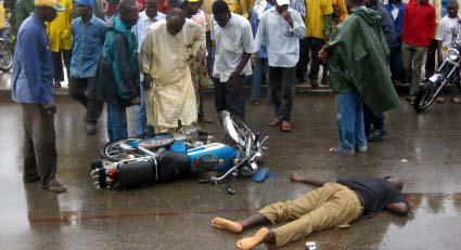 """Dégâts causés par les """"2 roues"""" : 16.000 victimes dont 15 morts en 9 mois"""