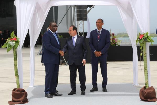 Guadeloupe: Macky Sall a pris part à la cérémonie d'inauguration au Mémorial ACTe