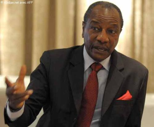 Alpha Condé méprise l'ethnocentrisme de l'opposition guinéenne
