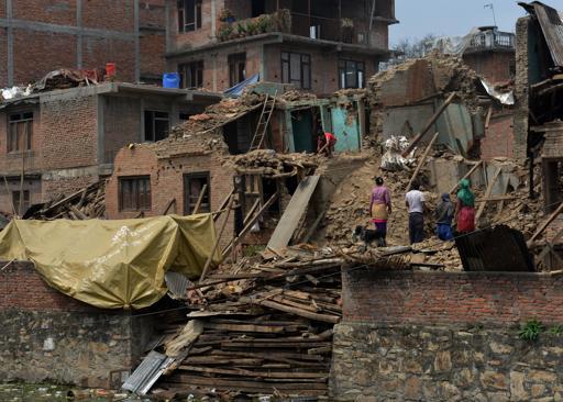 Nouveau séisme violent au Népal