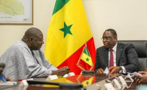 """Rapport annuel du Cnra : Macky Sall regrette la publication de dossiers """"secret défense"""""""