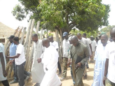 Les dernières images de la première étape de la tournée de proximité de Idrissa Seck
