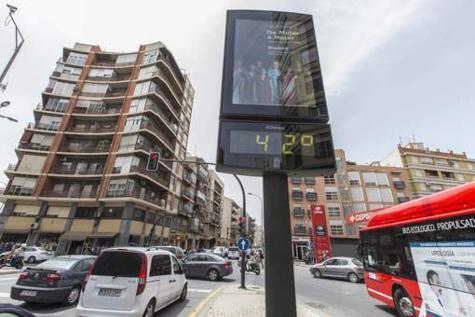 Chaleur mortelle en Espagne