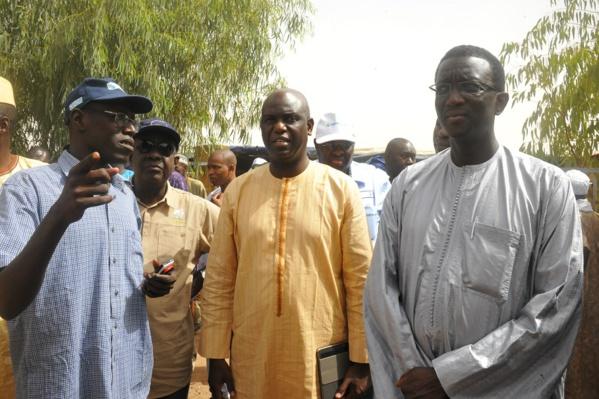 Mansour Faye et Amadou Bâ abreuvent 7 villages dans la région de Matam