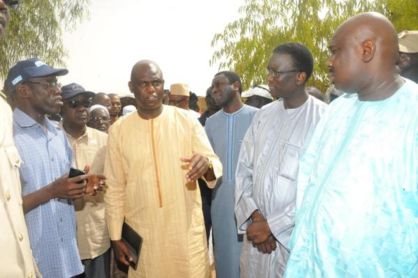 Matam: Mansour Faye annonce la réalisation de 3 stations de pompages et le raccordement de 2 000 maisons