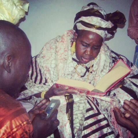 Sokhna Asta Walo Mbacké, la fille aînée de Serigne Saliou