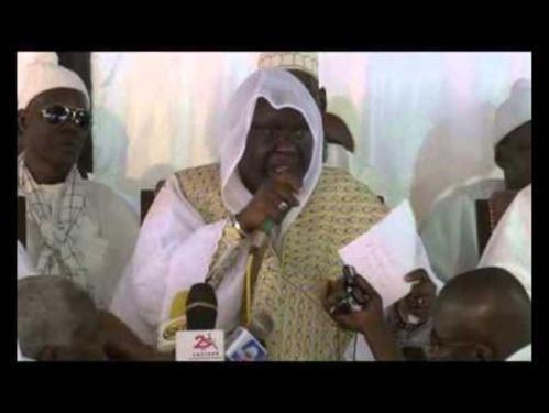 Cérémonie officielle de l'Appel des Layènes : Le marabout plaide pour la réconciliation entre Macky Sall et Khalifa Sall