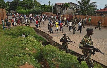 Burundi : Les manifestations anti-Nkurunziza continuent sous les balles