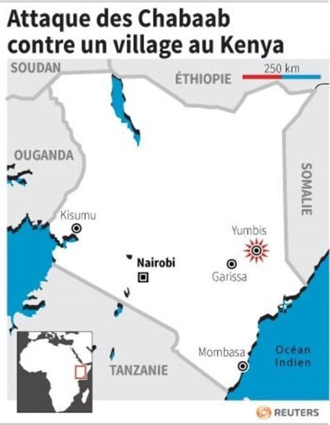 Les Chabaab attaquent un village près de Garissa au Kenya