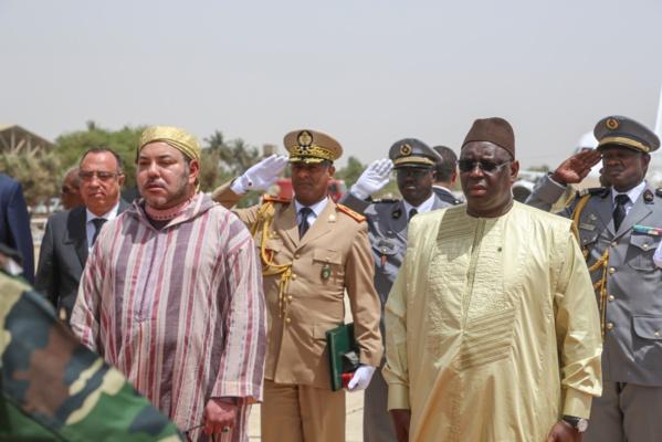 Visite du Roi Mohammed VI: inauguration du raccordement électrique de deux villages dans le département de Louga.