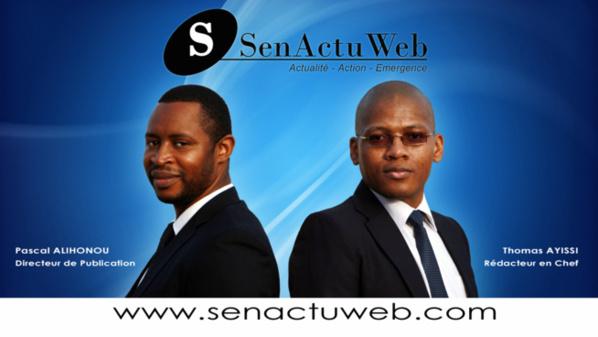 Thomas Ayissi et Pascal Alihonou, ex journalistes de Walf Tv, lancent le site Senactuweb