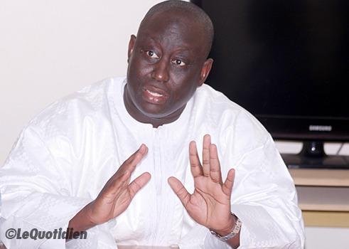 """Front anti-Macky : Idrissa Seck et consorts sont en train de """"marchander au cas où il y aurait un deuxième tour ..."""", selon Aliou Sall"""