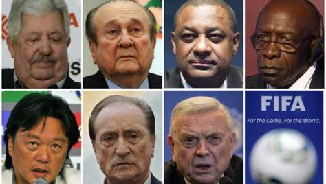 Voici les membres de la FIFA qui sont poursuivis