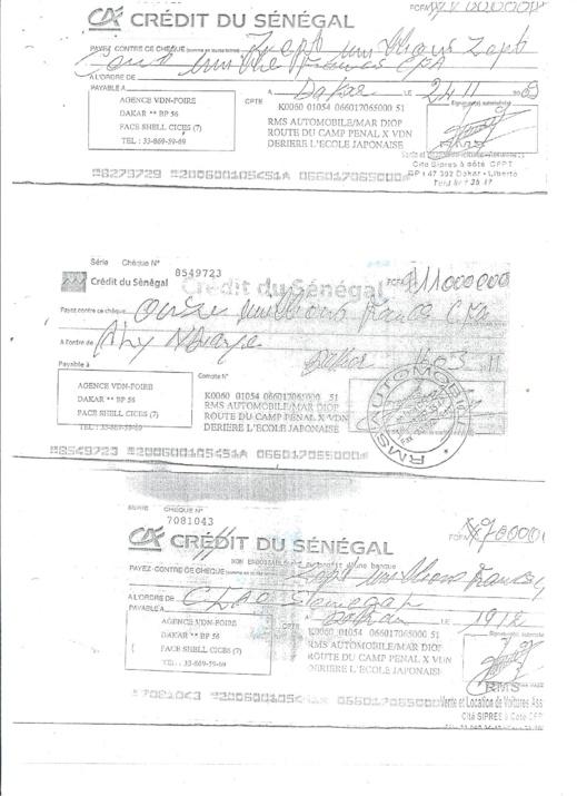 L'avocat de la CFAO Me Guissé a lui même bénéficier des voitures vendus par Ibrahima SALL