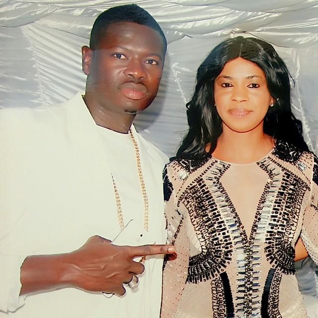 Nigger Jah, le créateur de la marque « SOLMA » en compagnie de sa femme
