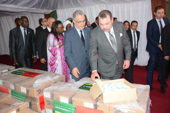 Lutte contre le Sida: Mohamed Vi offre 2 tonnes de médicaments aux personnes vivant avec le Vih
