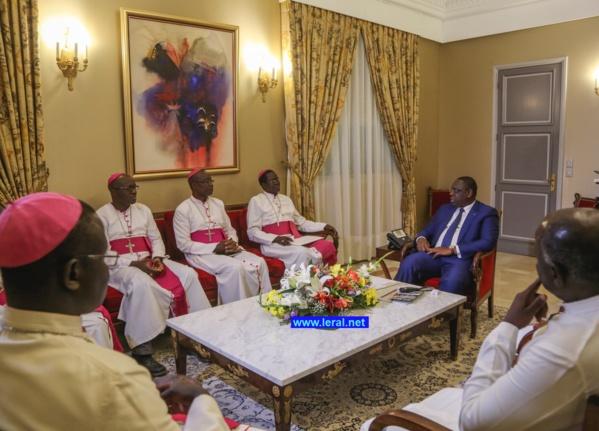 Le Président Macky Sall a reçu en audience les Evêques du Sénégal