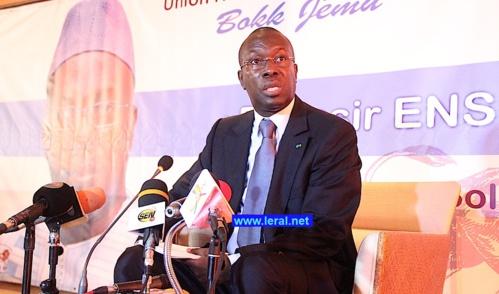 Lancement du Parti Unp: Me Wade fait faux bon à Jules Ndéné Ndiaye...