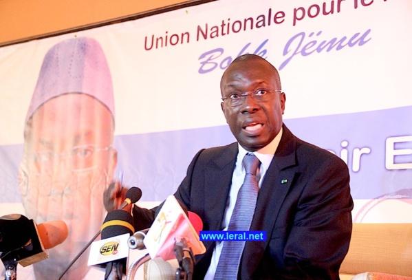 """Je ne serais jamais un militant de l'Apr"" jure Souleymane Ndéné Ndiaye"