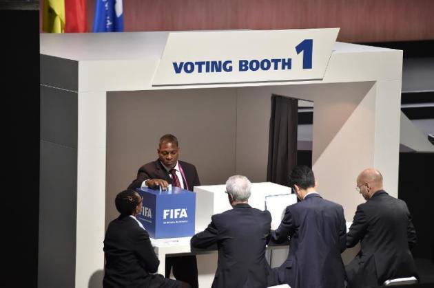 Fifa: début du vote pour élire le président