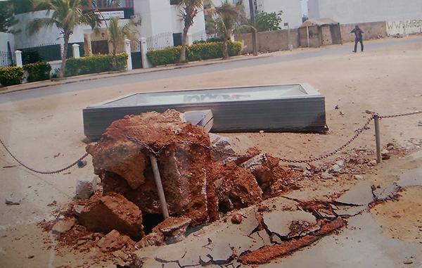 Pour destruction de biens appartenant à autrui: L'association des régies professionnelles d'affichage du Sénégal en guerre contre Barthélémy Dias