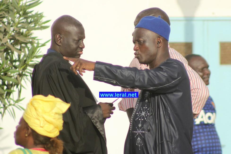 Serigne Mbacké Ndiaye et l'avocat Abdou Dialy Kane