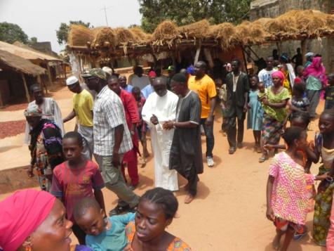 Les premières images de la tournée de proximité de Idrissa Seck en Casamance