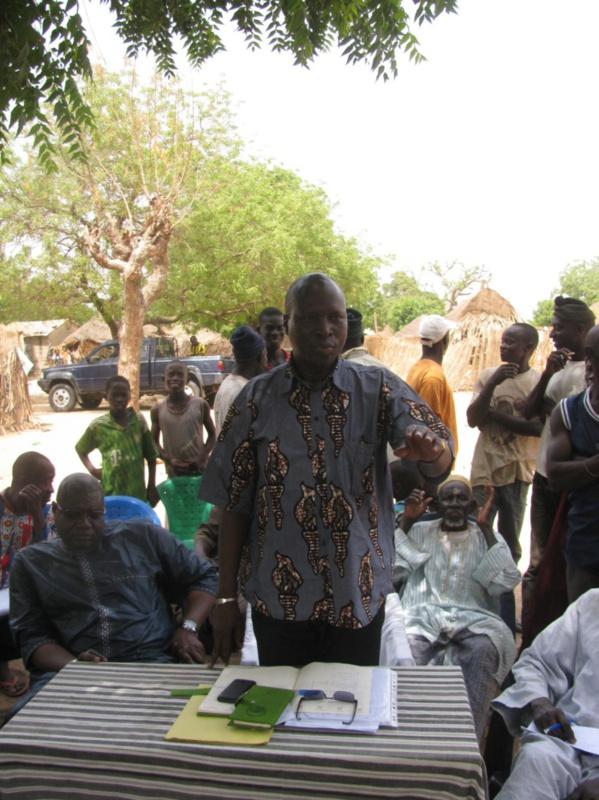 Niakhar: Le maire Macodou Sène tâte le pouls de ses 32 villages