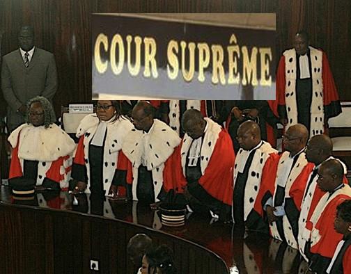 Crise à la Cour Suprême : Ce que disent les textes