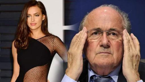 Qu'y a-t-il eu entre Sepp Blatter et Irina Shayk, l'ex de CR7 ?