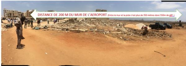 Démolition d'habitations situées à 200m du mur de l'aéroport, les occupants des lieux disposés à y être enterrés : danger, on flirte avec le péril humain !