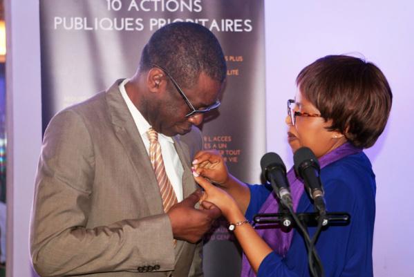 Le ministre conseiller, Youssou Ndour a reçu de l'Onu-Femmes la distinction «He y She» (lui pour elle)
