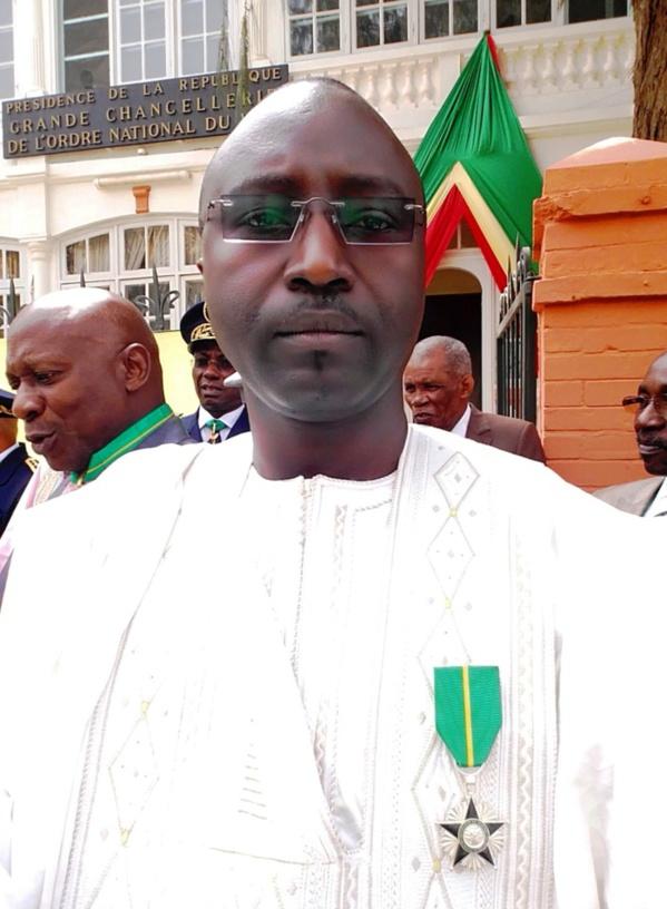 Distinction : Momar Ndao de l'Ascosen élevé au grade de Chevalier de l'Ordre national du Mérite