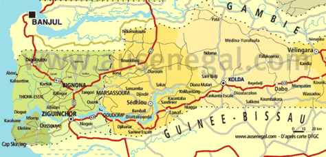 Sédhiou - Incident en zone frontière avec la Guinée-Bissau : La balade d'un gendarme sénégalais en uniforme sème la panique