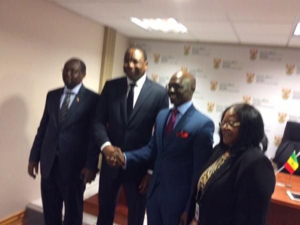Afrique du Sud: Les titulaires de passeports diplomatiques ou de service sénégalais dispensés de visa sud africain