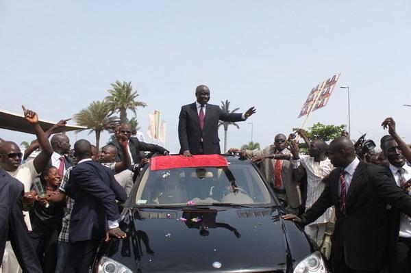 Idy entre en fanfare à Sédhiou, les militants de l'APR invisibles: Leurs menaces et leurs barrages n'étaient que du bluff !