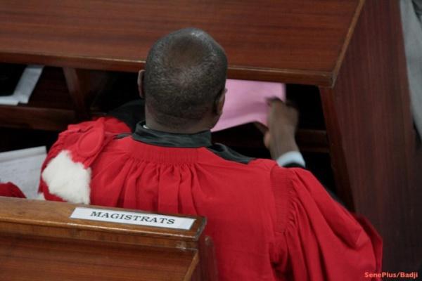 La magistrature endeuillée : Les audiences suspendues jusqu'à mercredi