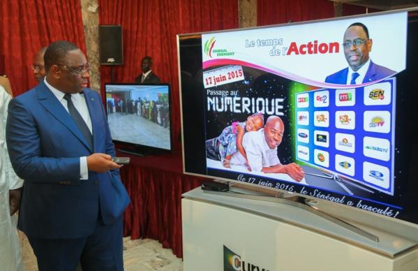 Passage de l'analogie vers le numérique : Macky Sall donne le coup d'envoi