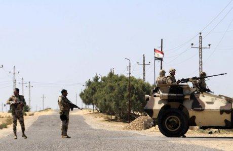 Egypte : sept terroristes tués dans le Sinaï