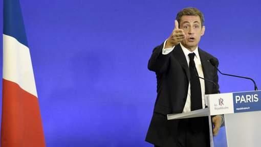 Sarkozy compare l'afflux de réfugiés à une grosse fuite d'eau